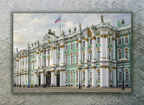 The Hermitage - Winter Palace, St Petersburg, Russia