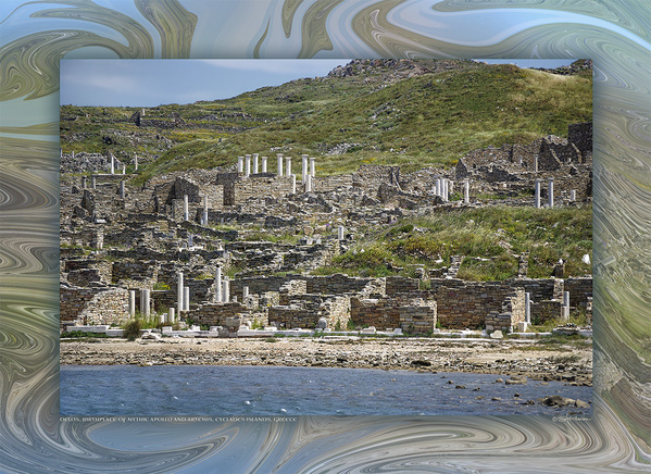 Delos, Mythic Birthplace of Apollo & Artemis, Cyclades Islands, Greece