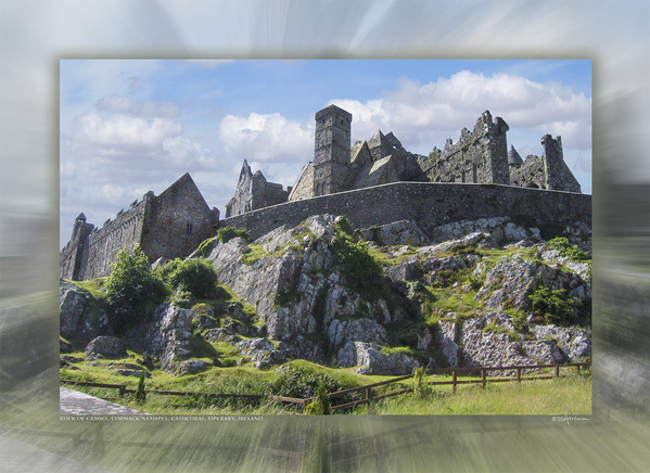 Rock of Cashel, Cormack's Chapel, Cathedral, Tipperary, Ireland