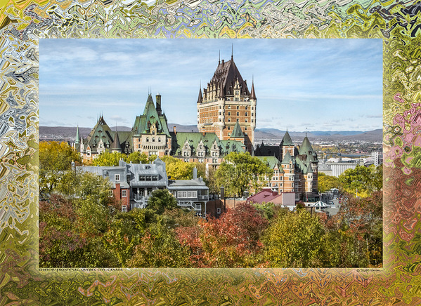 Chateau Frontenac, Quebec City, Canada