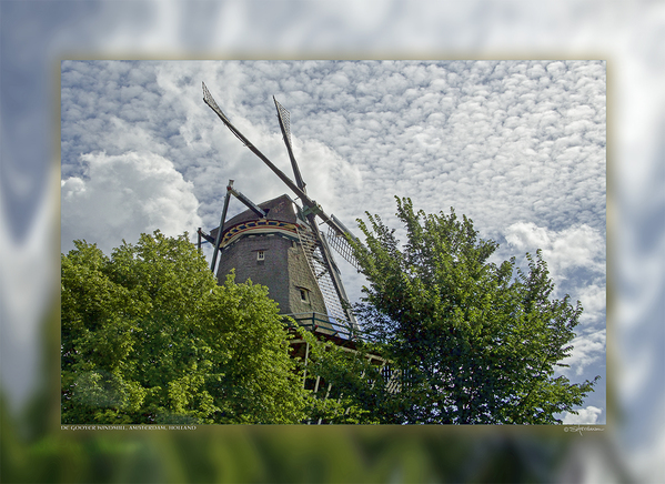 De Gooyer Windmill, Amsterdam, Holland