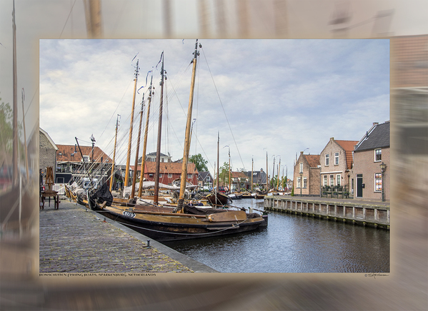Bomschuiten Fishing Boats, Sparkenburg, Holland